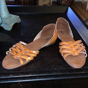 NWOT! Brown Sandals